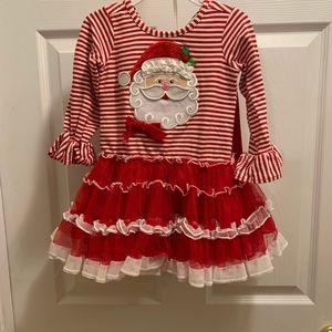 Christmas Santa tutu dress